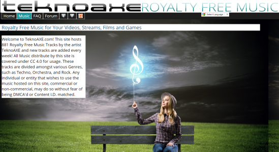 TeknoAXE Royalty Free Music